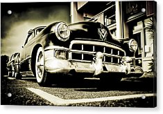 Chopped Cadillac Coupe Acrylic Print by motography aka Phil Clark
