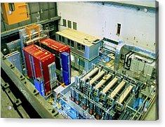 Chorus And Nomad Neutrino Detectors Acrylic Print by Cern/science Photo Library
