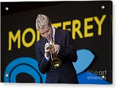 Chris Botti Plays Trumpet Acrylic Print by Craig Lovell