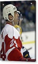 Acrylic Print featuring the photograph Chris Chelios by Don Olea