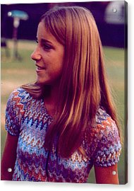 Chris Evert Acrylic Print by Retro Images Archive