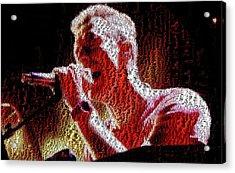 Chris Martin - Montage Acrylic Print