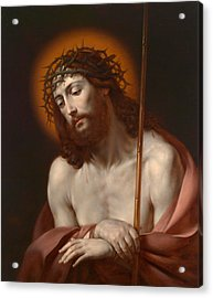 Christ As Man Of Sorrows Acrylic Print
