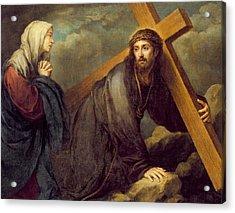 Christ At Calvary Acrylic Print