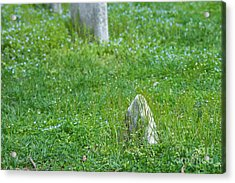 Christ Church Graveyard Acrylic Print by Kay Pickens