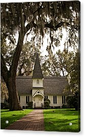 Christ Church On St. Simons Island Georgia Acrylic Print