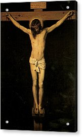 Christ On The Cross Acrylic Print by Diego Velazquez