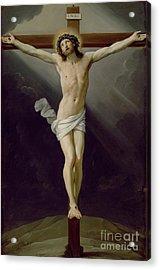 Christ On The Cross Acrylic Print by Guido Reni