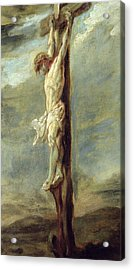 Christ On The Cross Acrylic Print by Rubens