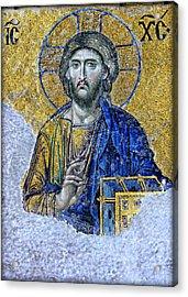 Christ Pantocrator II Acrylic Print by Stephen Stookey