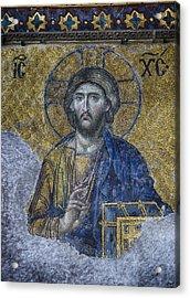 Christ Pantocrator IIi Acrylic Print by Stephen Stookey