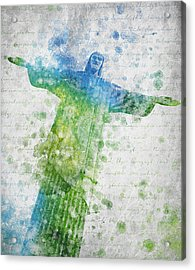 Christ The Redeemer  Acrylic Print