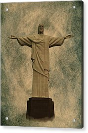 Christ The Redeemer Brazil Acrylic Print