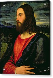 Christ The Redeemer Acrylic Print by Titian