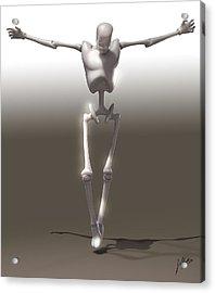 Christ Mechanical Acrylic Print
