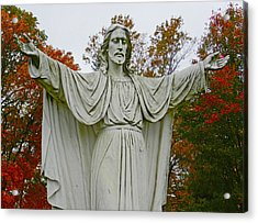 Christ Welcomes You Acrylic Print