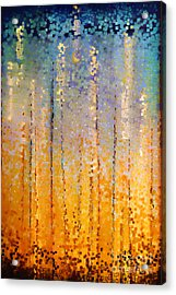 Christian Art- Everyone Who Calls. Romans 10 13 Acrylic Print by Mark Lawrence