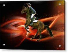 Christian Heineking On Horse Nkr Selena Acrylic Print