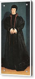 Christina Of Denmark Duchess Of Milan Acrylic Print