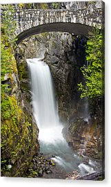 Christine Falls Acrylic Print by Bob Noble Photography