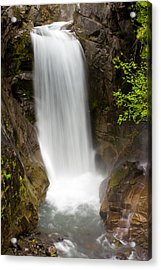 Acrylic Print featuring the photograph Christine Falls Mount Rainier National Park by Bob Noble Photography