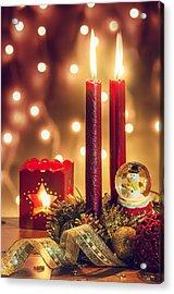 Christmas Ambiance Acrylic Print