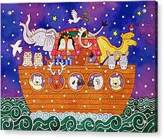 Christmas Ark Acrylic Print