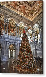 Christmas At The Library Of Congress Acrylic Print