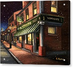 Christmas At Virgilios Acrylic Print