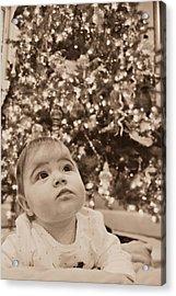 Christmas Baby Acrylic Print