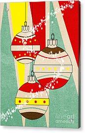 Christmas Card 6 Acrylic Print by Mark Ashkenazi