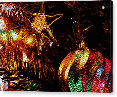 Christmas Card Design #1 Acrylic Print by Bill Kesler