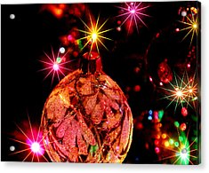 Christmas Card Design #2 Acrylic Print by Bill Kesler