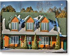 Christmas Cottage Acrylic Print