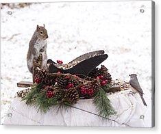 Christmas Critters Acrylic Print