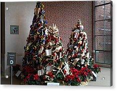 Christmas Display - Mt Vernon - 01131 Acrylic Print by DC Photographer