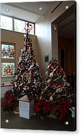 Christmas Display - Mt Vernon - 01132 Acrylic Print