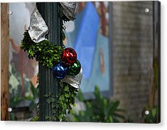 Christmas Display - Us Botanic Garden - 01132 Acrylic Print by DC Photographer