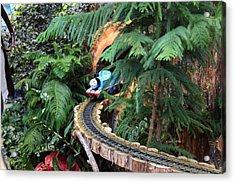 Christmas Display - Us Botanic Garden - 011326 Acrylic Print by DC Photographer