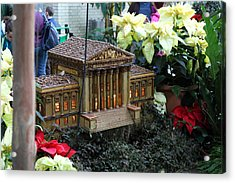 Christmas Display - Us Botanic Garden - 01133 Acrylic Print by DC Photographer