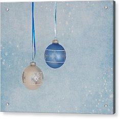 Christmas Elegance Acrylic Print by Kim Hojnacki