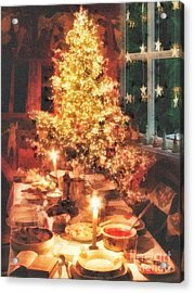 Christmas Eve Acrylic Print by Mo T