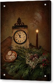 Acrylic Print featuring the photograph Christmas Eve by Robin-Lee Vieira