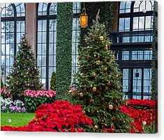 Christmas Garden #2 Acrylic Print