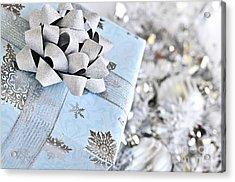 Christmas Gift Box Acrylic Print by Elena Elisseeva
