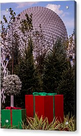 Christmas Gifts From Disney Acrylic Print