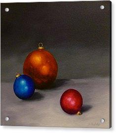 Christmas Glow Acrylic Print by Jo Appleby