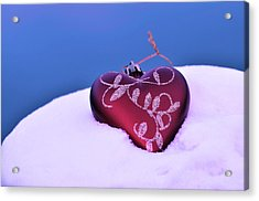 Christmas Heart  Acrylic Print by Tommytechno Sweden
