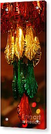 Christmas Holiday Party 4 Acrylic Print by Linda Shafer