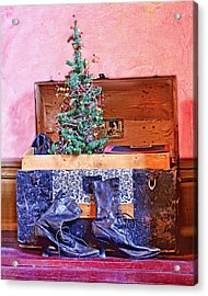 Christmas In A Trunk Acrylic Print